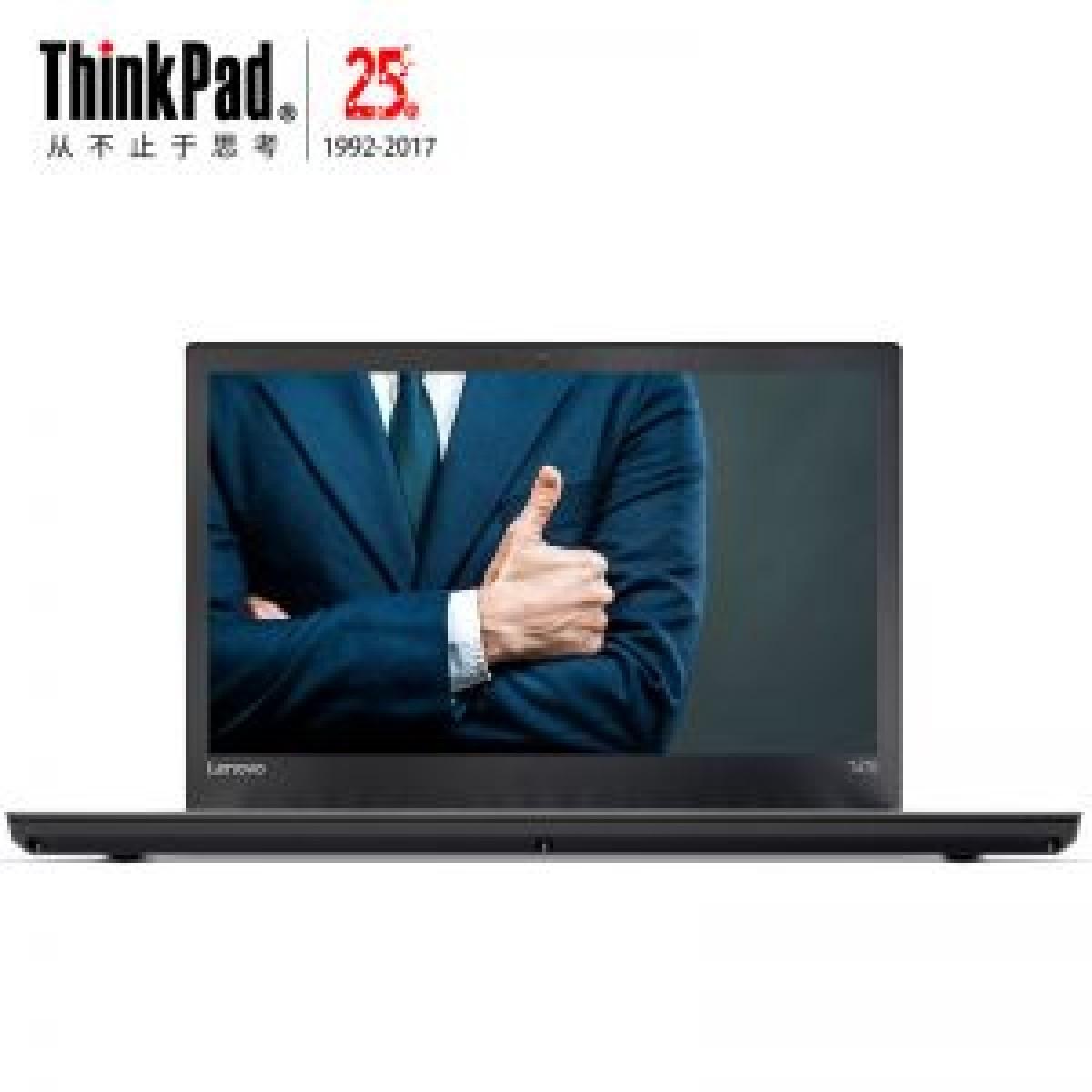 联想笔记本电脑 T470-3FCD I3-7100 4G 500G 2G独显 14寸 无光驱 win10家庭版