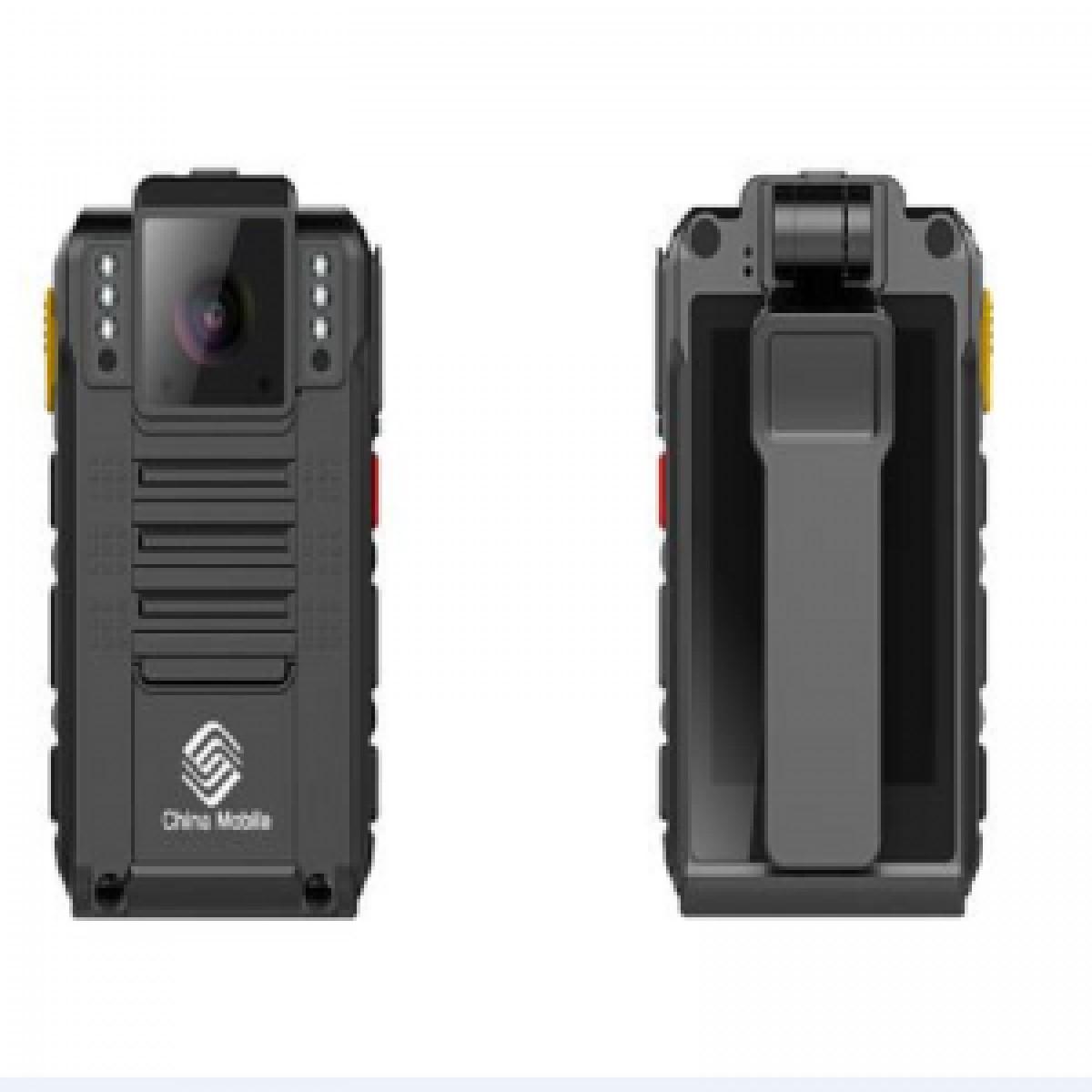 中移物联网 4G执法记录仪 DSJ-YDSZWA1 支持720P1080P双码流高清录像支持GPS和北斗定位1600万像素摄像头