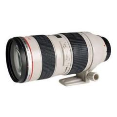 佳能(Canon) 远摄变焦镜头 EF 70-200mm f2.8L IS II USM 黑白 镜头结构19组23片 77口径