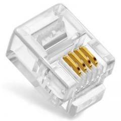 酷比客(L-CUBIC) 电话水晶头 LCLNC3PLUG 100只包