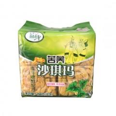 四川特产苦荞沙琪玛256g温江特产 麦芽糖醇配方
