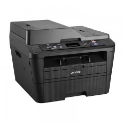 联想Lenovo黑白激光一体机 M7626DNA(A4幅面/打印+复印+扫描/自动双面+网络打印+进稿器)加1年上门服务